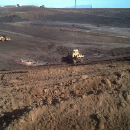 Rapid City Landfill Cell Excavation